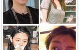 中國女星素顏大比拼,化妝前後曝光,張雨綺最美,鞏新亮差距最大