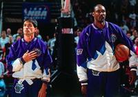 NBA著名雙人組:喬丹帶皮蓬,活塞壞孩子軍團兩大支柱