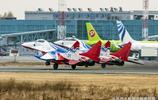 翱翔九天的俄羅斯勇士飛行表演隊