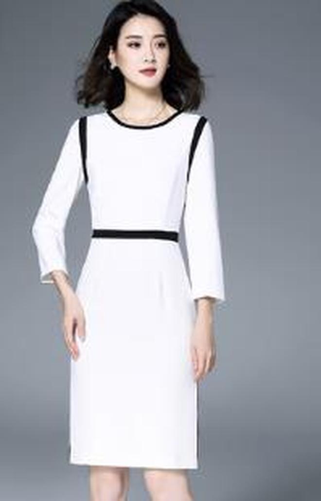 揹帶裙兩件套2017秋裝新款長袖時尚針織連衣裙女氣質淑女套裝