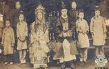"""一組清朝人結婚老照片:圖五是末代""""皇弟""""大婚,圖九是童養媳"""