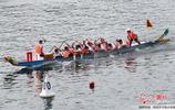 安徽黃山:龍舟競渡新安江