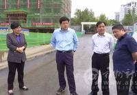 楊軍督查市區建築工地揚塵汙染整治工作