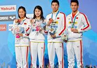 奪得男女混合4x100米混合泳接力銅牌,中國游泳隊咋那麼逗比呢