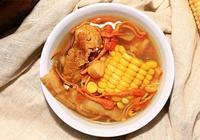 廣東經典老火靚湯-蟲草花乾貝玉米湯的製作方法