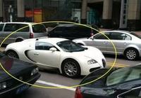 中國首輛上牌的布加迪威龍,以為車牌很一般,最後才知車牌太霸氣