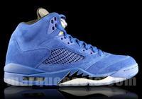 """Air Jordan 5 """"Blue Suede""""細節圖賞"""
