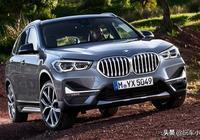 新款寶馬X1實車亮相,比寶馬X5更誇張,奧迪Q3都沒它帥氣