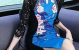 40歲的女人,建議多穿這種改良版旗袍裙,讓你美成畫中人