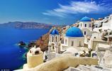 愛琴海的明珠-聖托裡尼島