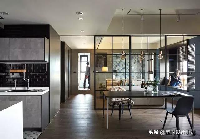 顏值爆表!全開放式住宅設計,一覽無遺的通透感