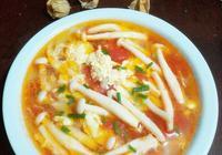 番茄白玉菇雞蛋湯