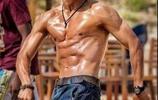 武打明星秀身材,肌肉真材實料,誰最健美?
