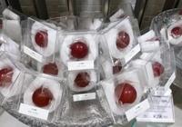 日本的葡萄論顆賣,中國的葡萄論串賣,網友:差距真大啊