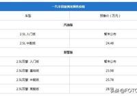 一汽豐田亞洲龍配置首曝:科技配置豐富 混動匹配專屬E-CVT