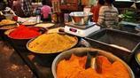 實拍,印度菜市場 海鮮上都是蒼蠅 轉一圈什麼都不敢買