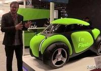 """未來汽車日本展示的""""橡膠車""""PK中國重汽無人駕駛電動卡車誰強?"""