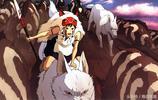 宮崎駿的《幽靈公主》,看看各種版本主角