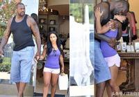 NBA情侶6大最萌身高差:相差60釐米擁吻成難題 奧尼爾波什皆上榜