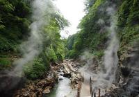 日本旅遊東北自由行:秋田縣的小安峽大噴湯