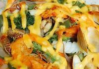 芝士海鮮焗飯
