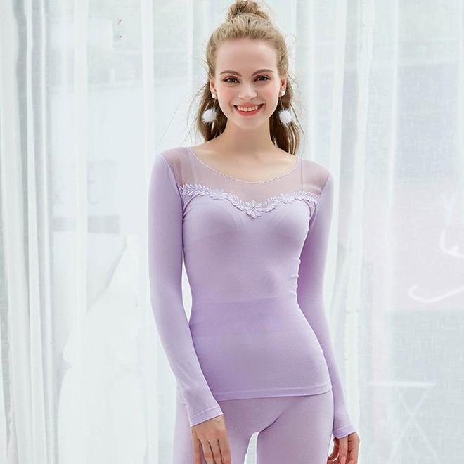 """""""凍""""真格的了!這蕾絲保暖裝,舒適不箍身,女人的冬季魅力之選"""
