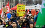 德國柏林公務員舉行示威活動 要求漲工資