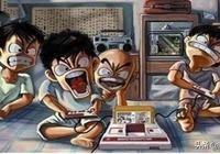 從小霸王到網吧,曾經和基友一起玩過的遊戲,拳皇玩成了真人快打?