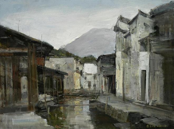 蔡志鴻油畫作品