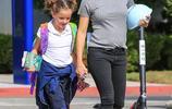 Jennifer Garner和她的女兒Seraphina出現在加利福尼亞州的洛杉磯