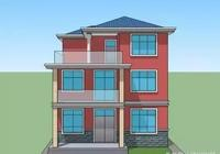 框架結構三層農村別墅,主體建成僅花20萬,怎麼做到的?