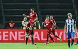 足球——德甲:霍芬海姆勝柏林赫塔