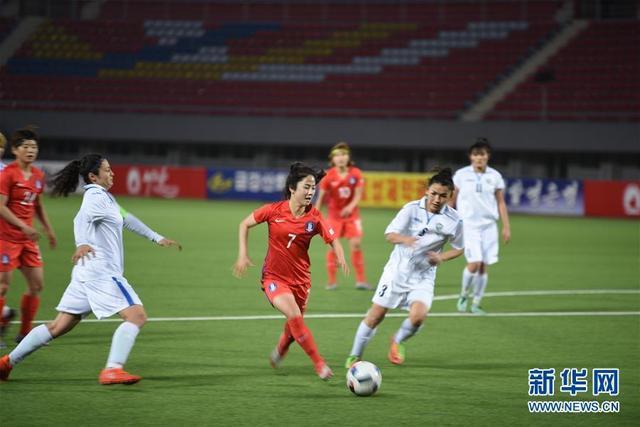 女足亞洲盃:韓國隊晉級決賽圈