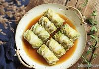 白菜別再炒著吃,捲一捲蒸一蒸,營養豐富,春節待客好有面子