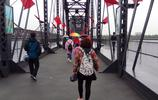 雨中實拍鴨綠江斷橋