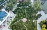 航拍:北戴河鴿子窩公園景色