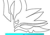 風之伊:FGO蘭陵王面具cos道具製作圖紙分享
