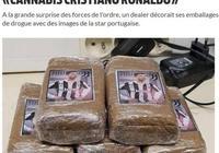 毒販將C羅印在毒品包裝上,被法國警方抓獲