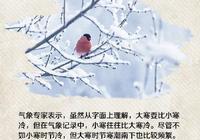 今年最後一個節氣——大寒至