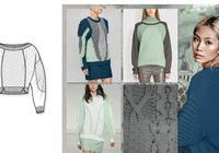 服裝款式圖:服裝設計師必備資料之一