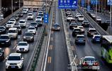 北京市首條城市快速道路潮汐車道開通