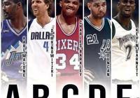 NBA历史巨星排名,天赋的排列顺序是怎么样的?