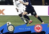 歐聯杯-德弗裡送禮約維奇制勝 國米0-1法蘭克福無緣八強