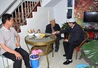 霍爾果斯市民政局慰問首個百歲老人