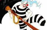 海賊王裡的逗比船長,低調奢華的幸運之王小丑巴基帥圖