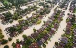 颱風哈維過後,美國休斯敦的景象