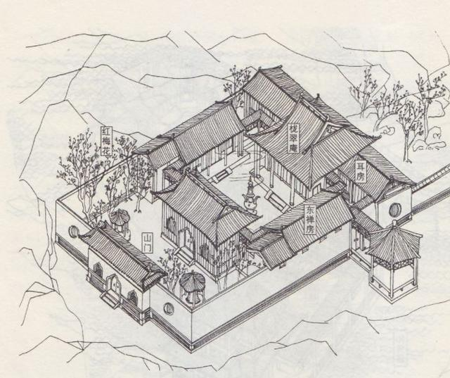神還原|紅樓夢建築手繪