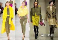 秋季軍裝風外套霸氣十足,千萬不要軍綠色穿的太土氣