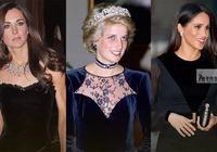 同穿天鵝絨,約旦王后低調,凱特荷葉邊領口有新意,戴安娜驚豔了