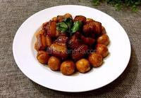 鵪鶉蛋紅燒肉